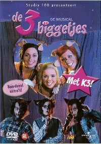 Cover K3 - De 3 Biggetjes - De Musical [DVD]